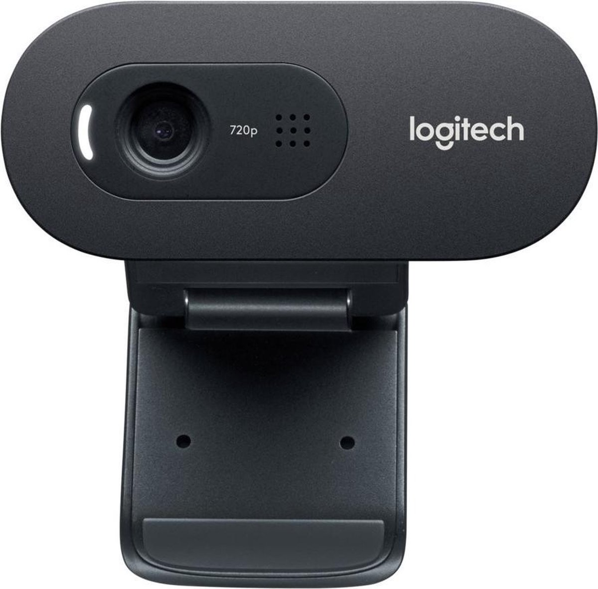 Logitech C270 Webcam | Webcam voor Thuiswerken | 3MP 1280x720 | USB 2.0 Zwart