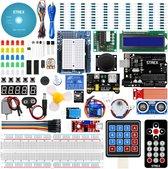 Strex Starter Kit voor Arduino 2021 - UNO R3 ATmega328 - 244 Delig - In Opbergdoos
