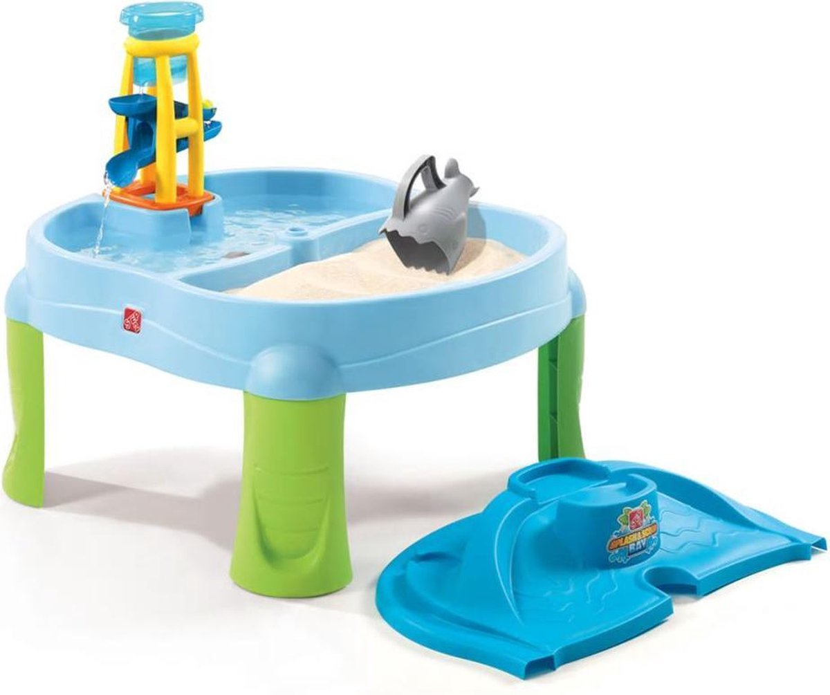 Step2 Zand & Watertafel Splash & Scoop Bay - Incl. deksel en 5 accessoires