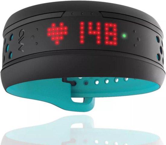 MIO Fuse Hartslag Polsband + Performance Monitor - Aqua - Small/Medium