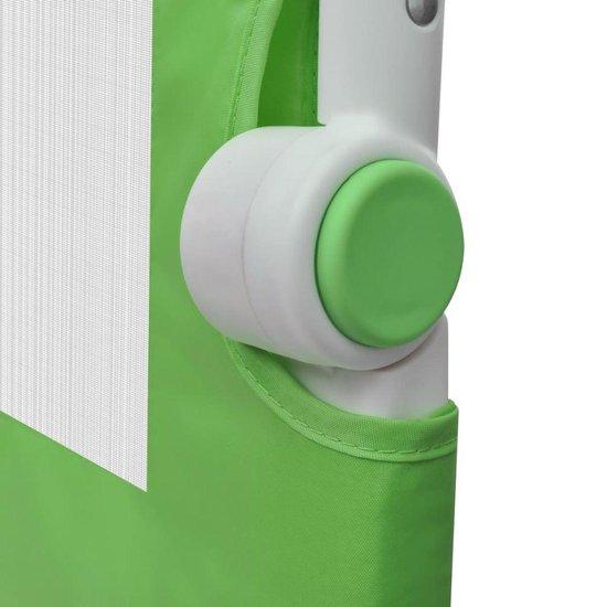 vidaXL Bedhekje peuter 150 x 42 cm groen - vidaXL