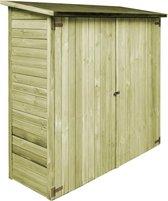 vidaXL Tuinschuur 182x76x175 cm FSC geïmpregneerd grenenhout