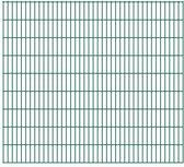 vidaXL Dubbelstaafmatten 2008 x 1830mm 30m Groen 15 stuks