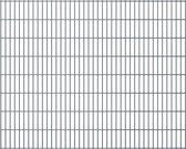 vidaXL Dubbelstaafmatten 2008 x 1630mm 30m Grijs 15 stuks