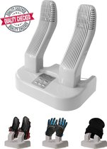 Elektrische set Schoenendroger , verwarming , droger & verfrisser voor natte , stinkende schoenen. Voor Schoenen , Laarzen , Helm , Handschoenen ,