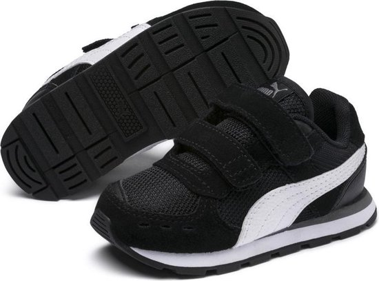 PUMA Vista V Inf Sneakers Kinderen - Puma Black / Puma White - Maat 27