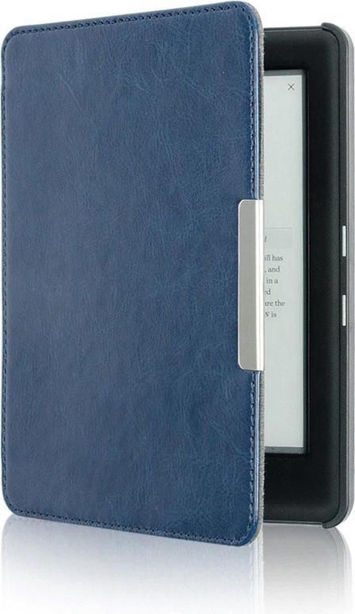 Kobo Glo HD Beschermhoes - Lederen Beschermhoes Kobo Glo / Glo HD / Touch 2.0 - Sleepcover flip hoes