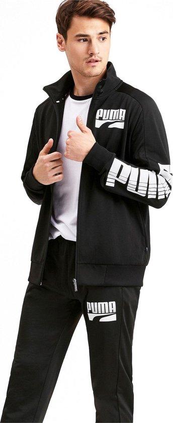 bol.com | Puma Trainingspak - Maat XL - Mannen - zwart/wit
