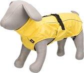 Trixie regenjas hond vimy geel rug 30 cm buik 24-34 cm