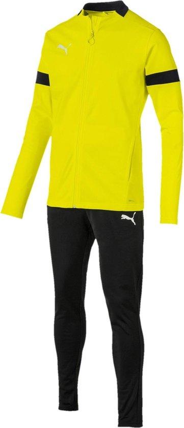 bol.com | Puma Trainingspak - Maat XL - Mannen - geel/zwart