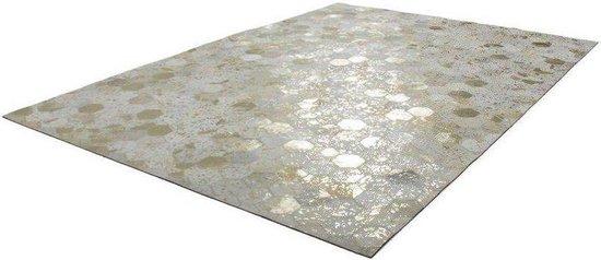 Kayoom Spark Vloerkleed 80 x 150 cm Goud