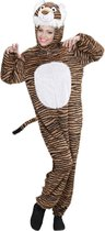 Leeuw & Tijger & Luipaard & Panter Kostuum | Full-Body Pluche Tijger | Volwassen | Medium / Large | Carnaval kostuum | Verkleedkleding