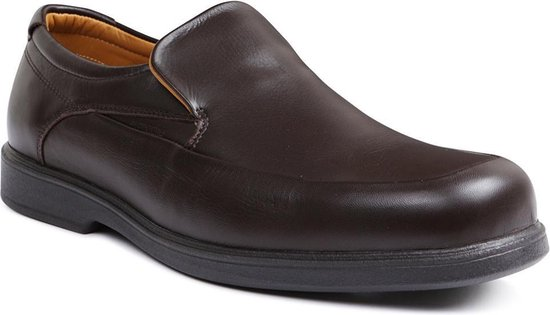 Sledgers Must Leather Brown - Maat 46