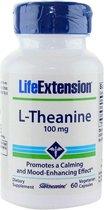 L-Theanine, 100 mg 60 Vegetarian Capsules