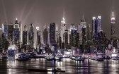 Fotobehang New York City | XXXL - 416cm x 254cm | 130g/m2 Vlies