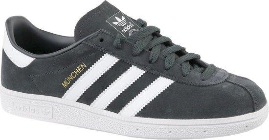 adidas Munchen CQ2322, Mannen, Grijs, Sneakers maat: 44 EU