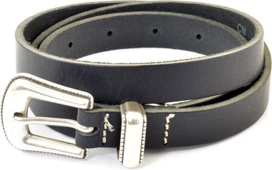 Cowboysbelt Damesriem Smalle 202003 – Zwart – 100 cm