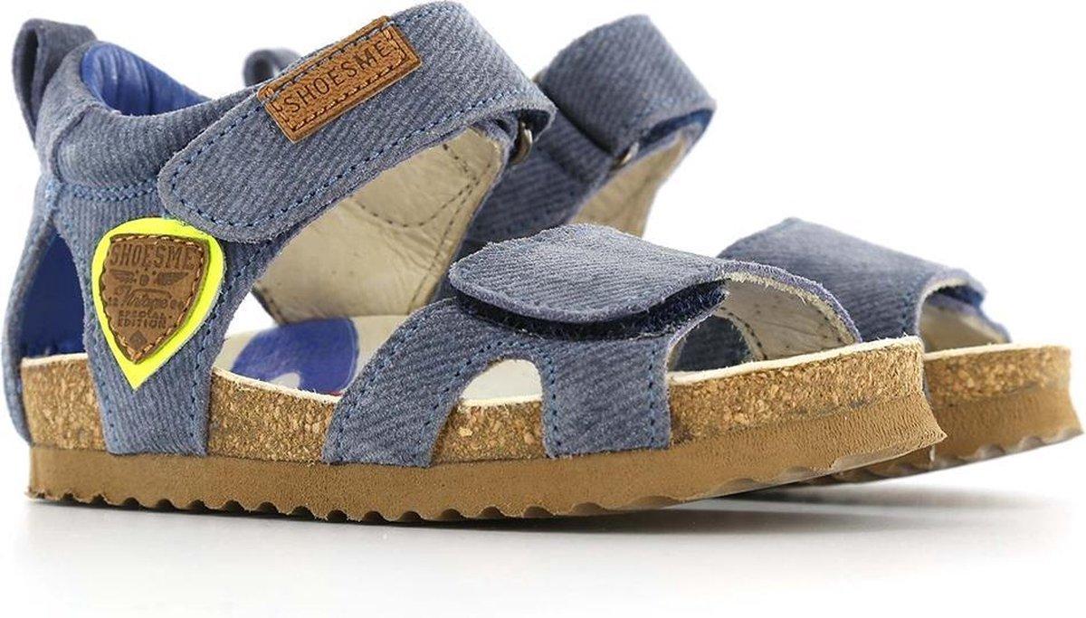 Shoesme Bio Jongens Sandaal Jeans Maat 21