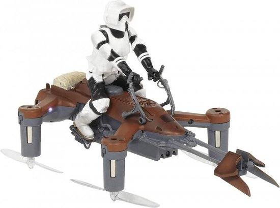 PROPEL® Star Wars Drone - Battling Quadcopter: 74-Z SPEEDER BIKE - Exclusive Collection Box