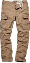 Vintage Industries Pack pants dark khaki