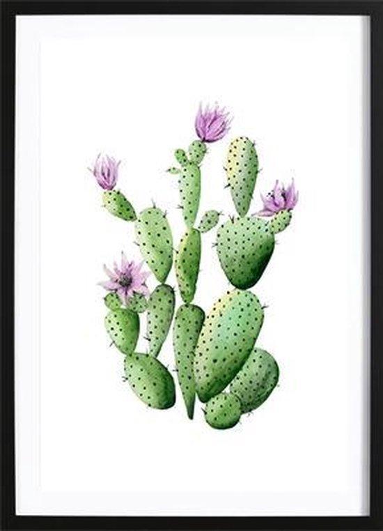 Cactus Flowers (21x29,7cm) - Wallified - Tropisch - Poster - Print - Wall-Art - Woondecoratie - Kunst - Posters