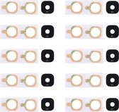 Let op type!! 10 PCS Back Camera Lens Cover with Sticker for Galaxy E5