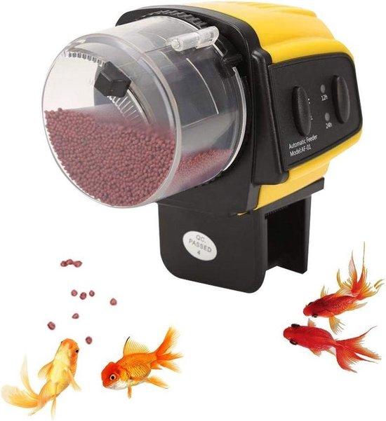 Voederautomaat Aquarium - Visvoederautomaat - Visvoer Automaat - Voerautomaat Vissen - Automatisch Vissen Voeren Aquarium - Voerdispender - Voedermachine