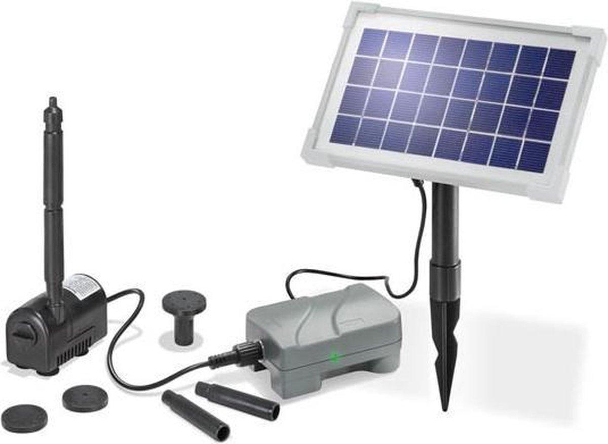 Esotec Rimini Plus 101709 Pompset op zonne-energie Met accu-opslag 175 l/h