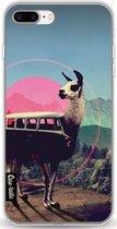 Casetastic Softcover Apple iPhone 7 Plus / 8 Plus - Llama