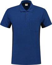 Tricorp Poloshirt Bi-Color - Workwear - 202002 - koningsblauw-Navy - maat XS