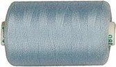 Naaigaren, l: 1000 , lichtblauw, polyester, 915m