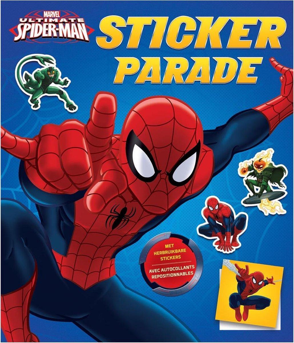 Marvel Sticker- En Kleurboek Spider-man 28 Cm - Marvel