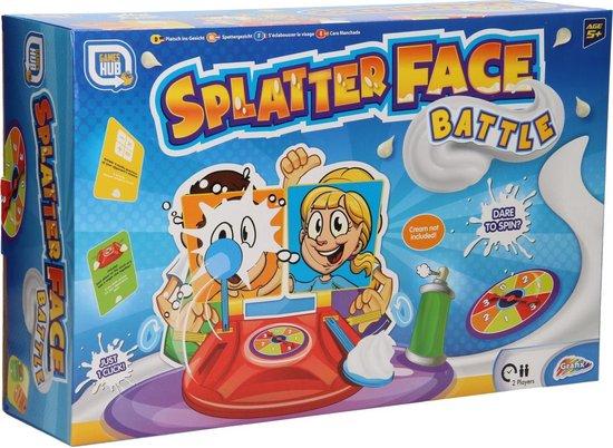 Afbeelding van het spel Splatter Face Battle Spel (Engelstalige versie) variant op Pie Face