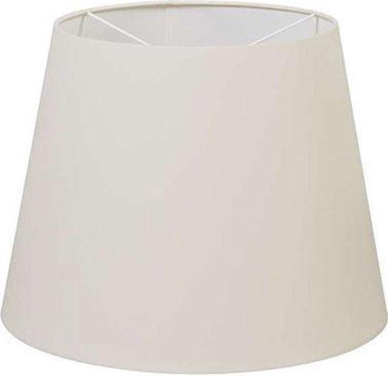QAZQA 25/25/27.5 - Moderne Lampenkap - Ø 350 mm - Wit - - QAZQA