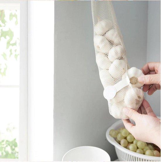 Hiden | Herbruikbare Groente Opslag Netje – Keuken – Ophanging – 40 CM