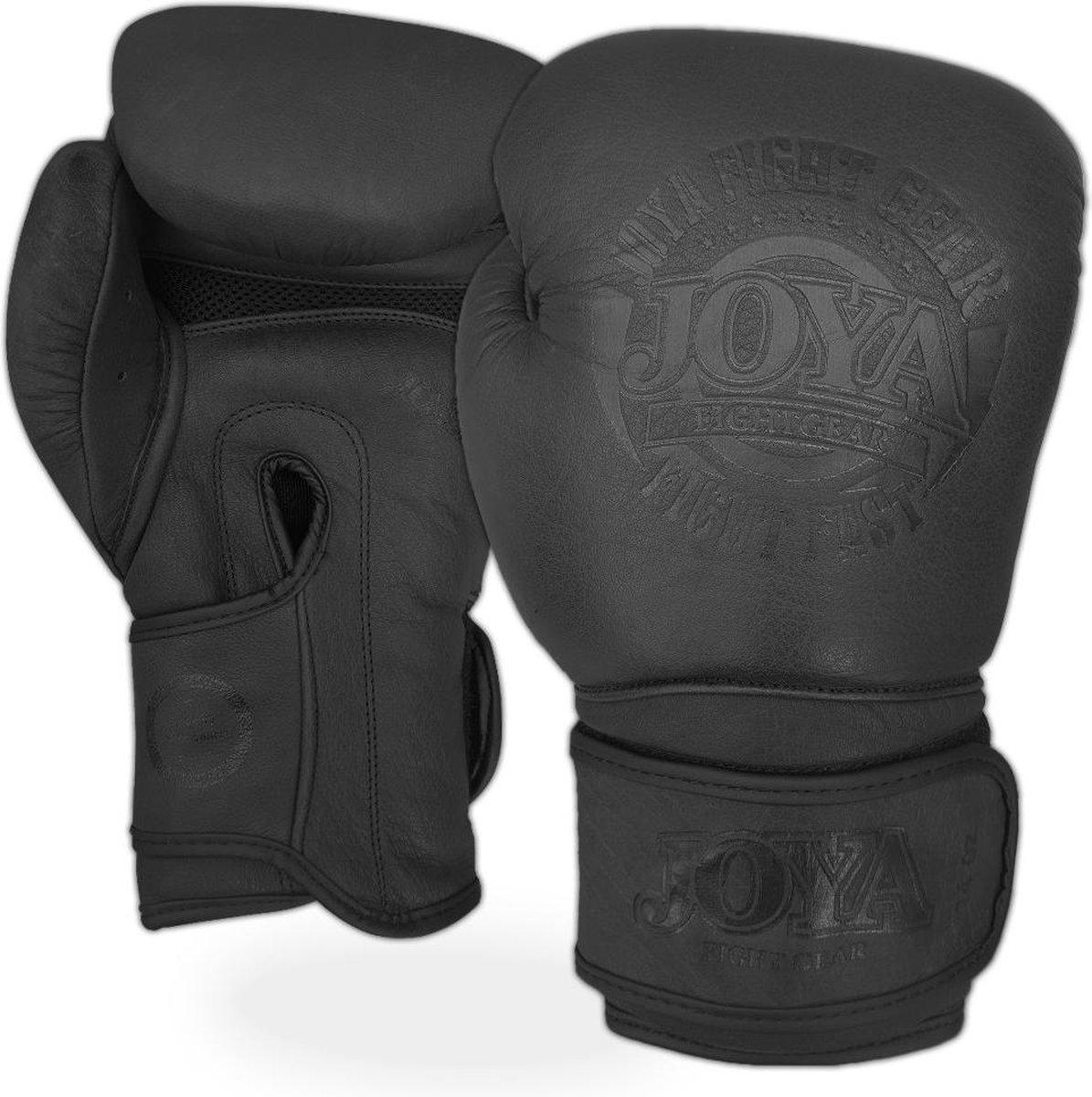 Joya (kick)bokshandschoenen Fight Fast Faded Zwart 14oz - Joya