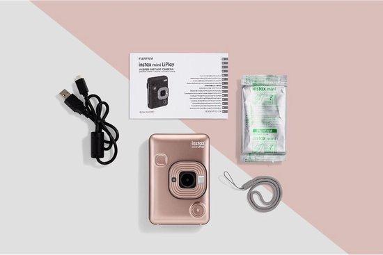 Fujifilm Instax Mini LiPlay - Blush Gold