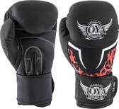 Joya Fightgear - (kick)bokshandschoenen - Leopard - Vrouwen - Rood - 12oz