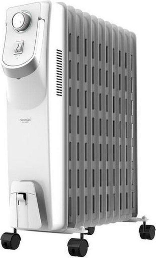 Olieradiator (11 kamers) Cecotec Ready Warm 5850 Space 360º 2500W Wit