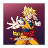 Dragon Ball Z-kalender 2022-Manga-anime-Japans-Son Goku-formaat 30x30cm