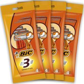 BIC 3 Sensitive wegwerpscheermesjes, bundel van 16 mesjes