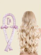 Heatless Curls - Satijnen Haarkruller - Krulspelden - Haarkrullers - Haarrollers - Krullen Maken - Curling Ribbon
