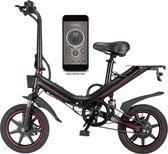 Fast Trax - OUXI - V5 - 16 inch - Elektrische Fiets - E Bike - Elektrische Vouwfiets - APP IOS/ Android -  500W Motor - 15Ah Lithuim ion Batterij - Zwart