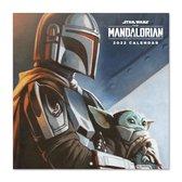 Mandalorian kalender 2022 - Star Wars - Disney -  Yoda -  formaat 30x30 cm