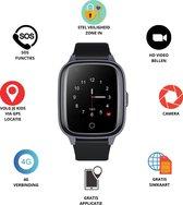 GPS Horloge 4 YOU - GPS Horloge kind - GPS Tracker - Smartwatch voor kinderen - Kinderhorloge - Gratis simkaart en Gratis app - SOS Knop - 4G verbinding- Waterdicht - Live GPS Locatie - HD (Video)bellen - Veiligheidzone instellen - Camera - Zwart 17