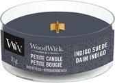 WoodWick Petite Candle Indigo Suede