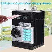 Spaarpot - Elektronische Wachtwoord Spaarpot - Kinderen - Geldkist - Zwart