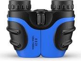 Verrekijker voor kinderen - Verrekijker vogelsspotten - Kinder verrekijker - By Rick - Blauw - 8x21 - Hoge kwaliteit - Inclusief accessoires - Binoculars - Vergrootglas