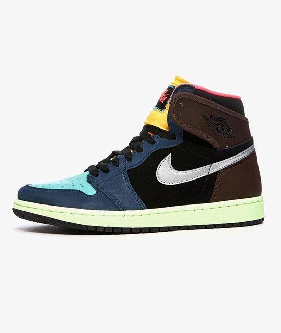 Nike Air Jordan 1 Retro High OG, Baroque Brown/Racer Pink-Black, 555088 201, EUR 45