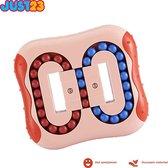 JUST23® Magic bean board - IQ ball brain game - IQ ball - Anti stress speelgoed - Magic puzzle - Puzzel - Roze - Educatief speelgoed - Breinbrekers - Speed cube